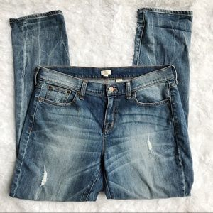 J.Crew Factory Heath Wash Slim Boyfriend Jean 29